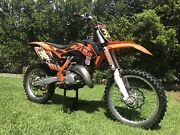 2013 KTM 125sx Narangba Caboolture Area Preview