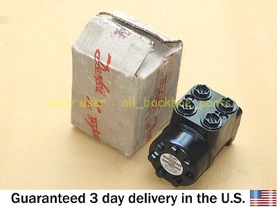 Jcb Backhoe - Genuine Danfoss Valve Steering 4 Port Part No. 35411700