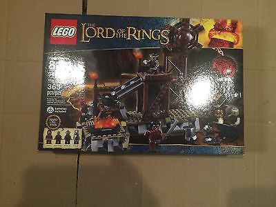 Lego 9476 Lord Of The Rings  , Orc Forge , New , Sealed , Retired
