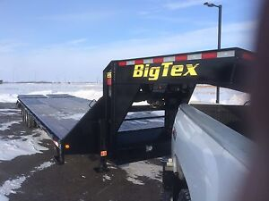 Reduced New Trailer Is Here 2016  Big Tex  25 + 5 goosneck