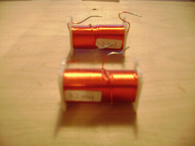 2 Hard To Find Crossover Wire Inductor Coils 1.2 Millihenries