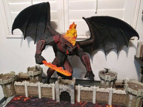 LORD OF THE RINGS ~ Balrog ~ #602/2400 LE 100% complete with box! read Desc.