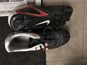 Nike soccer cleats , adiddas training shoes