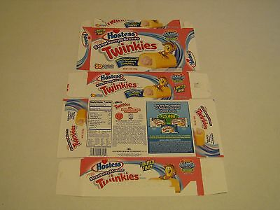 Hostess  Interstate Brands  Strawberry   Creme Twinkies Empty Collectible Box