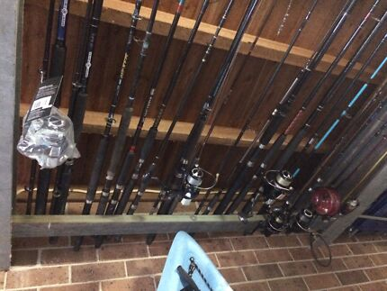 Fishing rods and reels Bateau Bay Wyong Area Preview