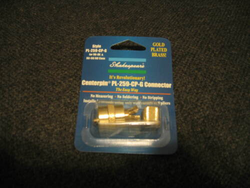 Shakespeare PL-259-CP-G Centerpin Connector New, Never opened.