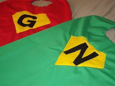 Superhero Dress Up Pretend Play Custom Handmade Personalized Child Cape - Personalized Childrens Clothes