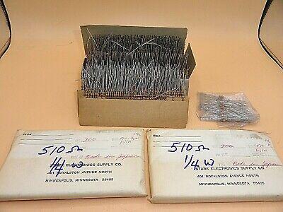 510 Ohm 14 Watt Resistors 5 Lot Of 1000 Aa7