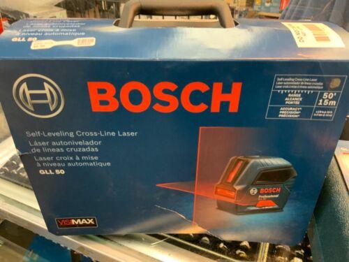 Bosch GLL 50 50ft Self-Leveling Cross-Line Laser Manufacturer