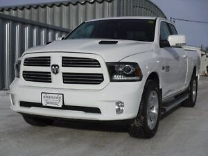 2017 Ram 1500 Sport - Navigation, Uconnect, 8.4 Inch Touchscreen