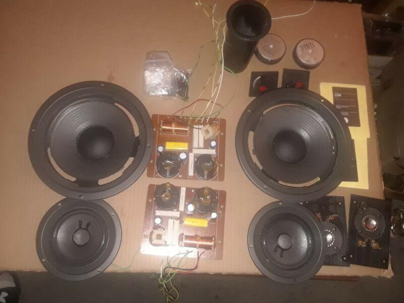 JBL LX44 speaker parts - tweeters, boards, speakers magnets, etc...
