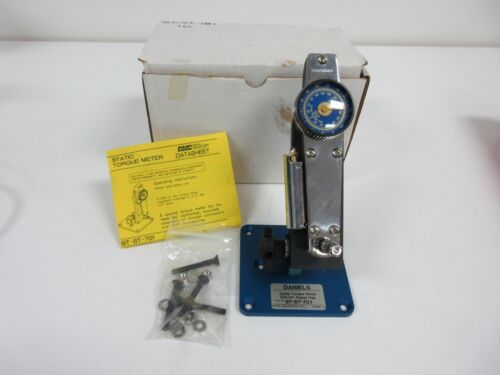 DMC BT-ST-701 STATIC TORQUE METER ASSEMBLY