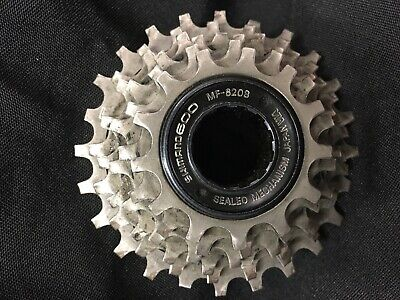 VINTAGE SHIMANO 600 MF-6208 6 SPD SEALED CASSETTE FREEWHEEL ISO 13-21