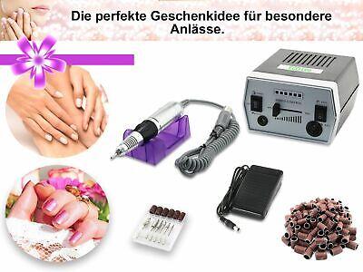 Profi Fußpflegegerät Maniküre Pediküre Set + Diamantschleifer Hornhautentferner