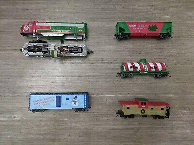 Bachmann HO Christmas Train Set Holiday Spirit