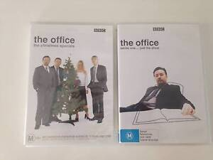 The Office TV Series series 1 and The Christmas Specials - DVD Shailer Park Logan Area Preview