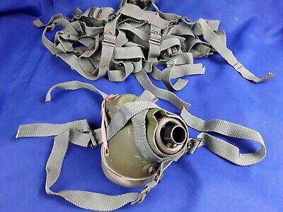 USAF MBU-5 pilot flight helmet oxygen mask harness bayonets to receivers
