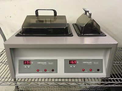 Vwr Scientific Model 1255pc Water Bath Dual Digital Used Tested Excellent