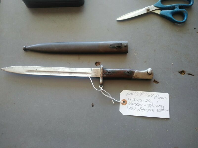 Polish WW2  WZ BAYONET FOR MAUSER MILITARY ? Not sure
