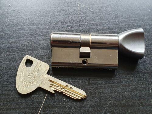 Vachette VIP+ thumbturn cylinder lock with 1 key, lockpick, locksport, locksport