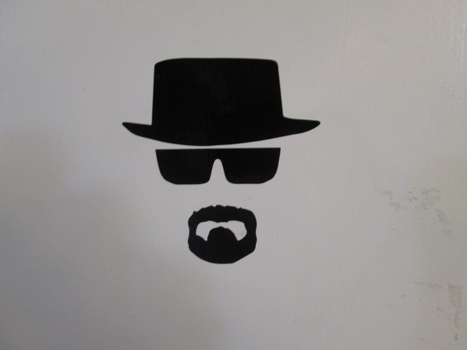 Home Decoration - Heisenberg Breaking Bad vinyl decal sticker, many different colors/sizes