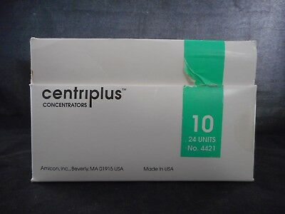 Amicon Centriplus Concentrators 10 No. 4421 16 Units For Volumes Up To 15ml