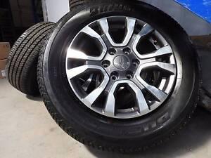 Ford Ranger WIldtrack Rims, Wheels, 4x4, Dual cab, tyres Mackay Mackay City Preview