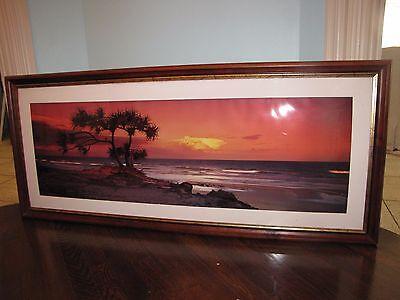 "Peter Lik ""Pandanus Twilight"" Original Photograph 1.5M 20""x58"" Signed /200"