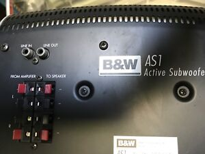 B&W AS1 Active Subwoofer - Price Dropped