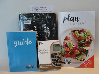 Weight Watchers 2018 Freestyle Calculator   Plan It Guide   Pocket Guide   Diary