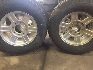 2012 Dodge 3500 rims and tires