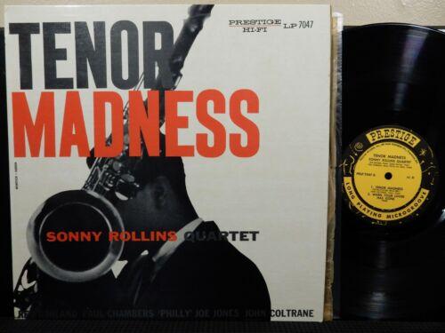 SONNY ROLLINS QUARTET Tenor Madness LP PRESTIGE PRLP 7047 MONO DG RVG 1958 Jazz