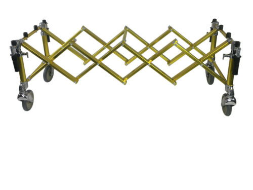 Church Truck Casket Stand Cart Mortuary Cot Stretcher Chapel Funeral Gold Color