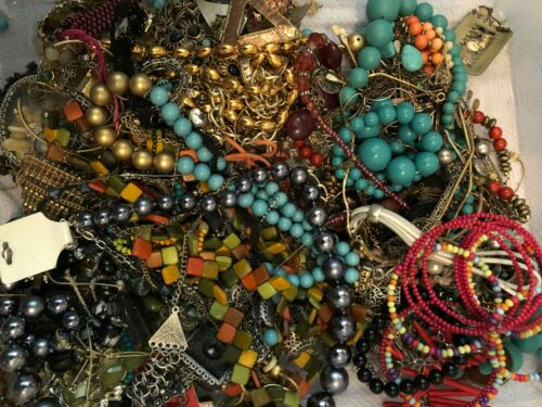 5 lbs Jewelry Lot for Crafting/Repurpose (#26)