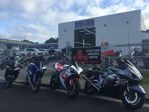 HOBART MOTORCYCLES  ,Safety  style and expert advice Huntingfield Kingborough Area Preview