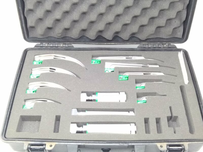 Welch Allyn Inc. MIL5062 Comprehensive Laryngoscope Kit