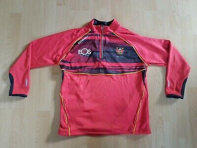 Herren Half Zip Top (O 'Neills  GAA  Half Zip Top Herren Pullover Jacke Rot Ireland)