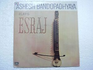 ASHESH-BANDOPADHYAYA-ESRAJ-1978-RARE-LP-CLASSICAL-INSTRUMENTAL-INDIA-MINT