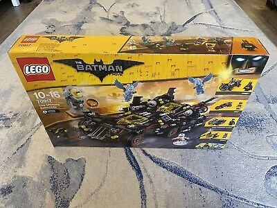 The LEGO Batman Movie The Ultimate Batmobile (70917) New In Box Factory Sealed