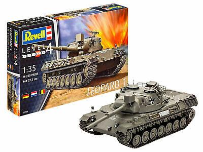 Revell 03240 Kampf-Panzer Leopard 1 Plastik Modellbausatz 1:35 NEU