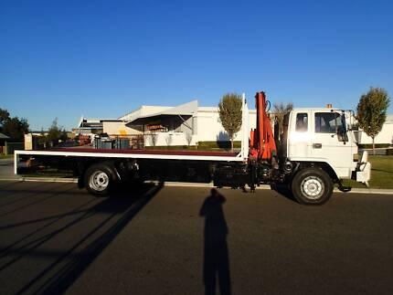Isuzu FVR 900 Long Crane Truck