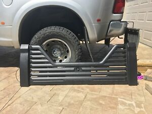 Air flow tailgate