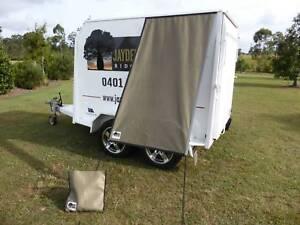 PREMIUM Caravan Fridge / Window Shade OLIVE GOLD Childers Bundaberg Surrounds Preview