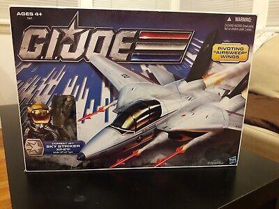 Gi Joe Skystriker 30th Anniversary XP-21F MISB Ace figure Sealed Box new