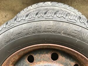 Two nearly new 205 65 R15 winter tires