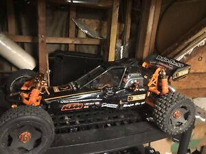 2 hpi 1/5 5b ss 2 stroke ect cars upgrades n extras rtr