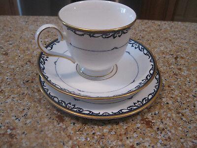 Lenox Royal Scroll - Lenox Royal Scroll Cup, Saucer and 6.25