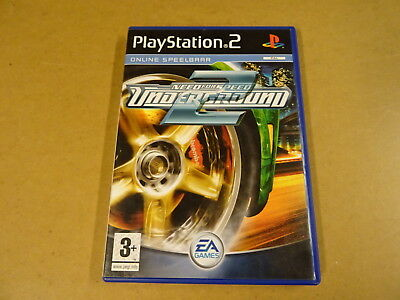 PS2 GAME / NEED FOR SPEED: UNDERGROUND 2 (PLAYSTATION 2)