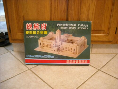 Presidential Palace Wood Model Assembly