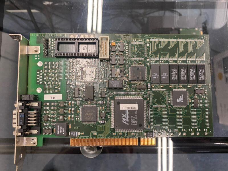 Beckhoff FC3101 PCI Profibus DP Interface Card for Machine Automation